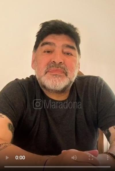 Maradona deshereda a todos sus hijos (video)