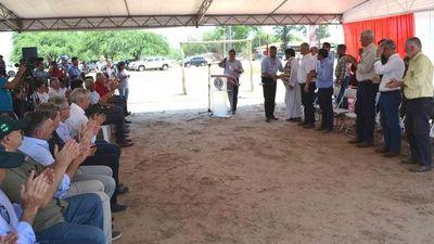 Abdo Benítez asegura que hay mucho por hacer en el Chaco