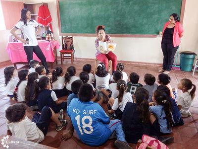 Secretaría realizó jornadas culturales en Carmelo Peralta