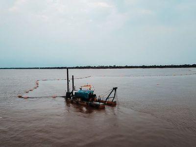 Pasos críticos del río serán dragados para mejorar navegabilidad