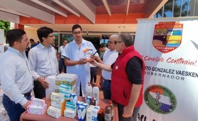 Gobernación ya entregó medicamentos por valor de G. 289 millones