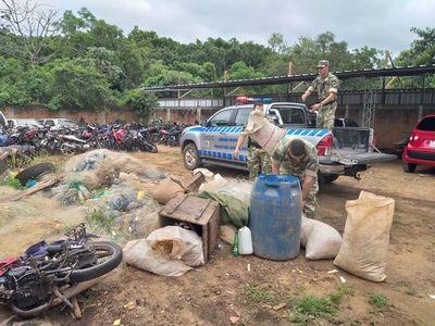 Incautan elementos de pesca prohibida para su utilización en Ayolas
