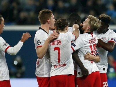 El fútbol total del Leipzig tumba al Zenit