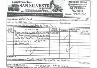 Municipalidad de Arroyito: hasta el momento detectaron más de 1.100 millones de guaraníes en obras fantasmas