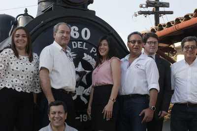 Comenzó la puesta en marcha del tren del lago de Ypacaraí