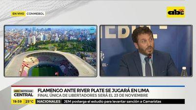 La final de la Libertadores será en Lima