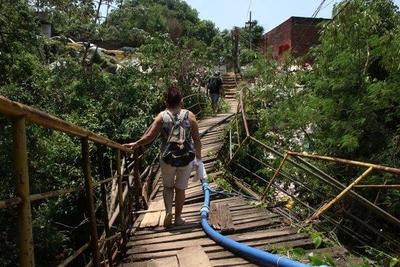 HOY / Chacarita Alta: vivir al borde del abismo y la deriva