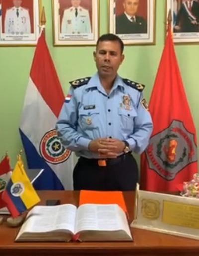 Cuestionado policía es designado como jefe de comisaría 6ª de Pdte. Franco