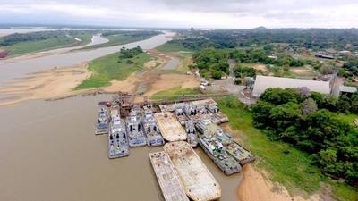 HOY / Bajante del río deja a flote riesgo de desabastecimiento y combustible más caro