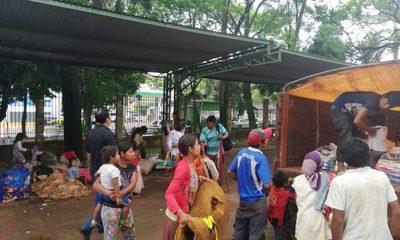Indígenas fueron llevados nuevamente a Itakyry