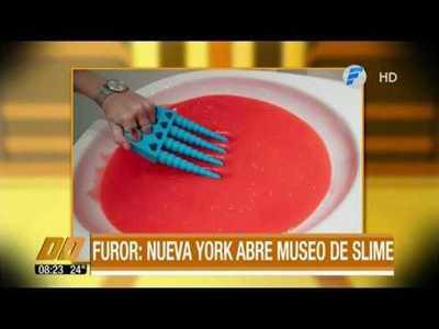 Furor: Nueva York abre museo del slime