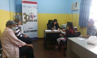 Más de 150 asistidos por DIBEN desde su habilitación en Alto Paraná
