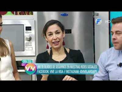 Pan dulce y Gazpacho andaluz en la cocina de Vive la Vida