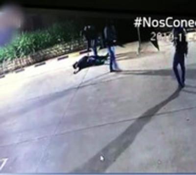 Guardia de seguridad es herido con arma de fuego