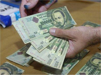 Alertan sobre circulación de billetes falsos de G. 100.000 y otros