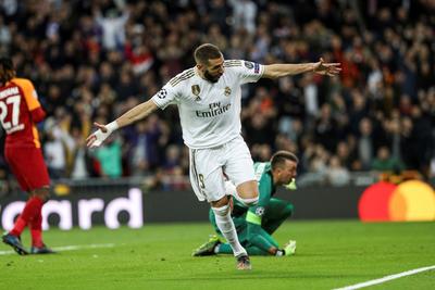 Tremenda goleada del Real Madrid al Galatasaray