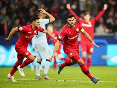 El Leverkusen suma sus primeros puntos a costa del Atlético Madrid