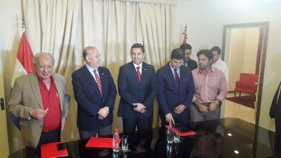 """Histórica"" reunión ojapóva comisión ejecutiva ANR"