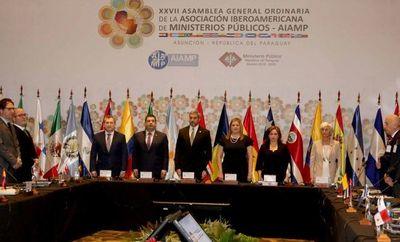 Titular de la CSJ en asamblea de AIAMP