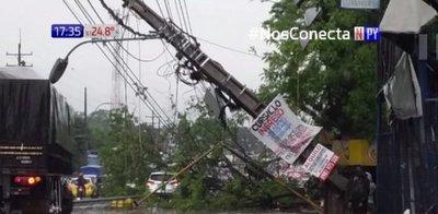 Villa Elisa, otra ciudad arrasada por el temporal
