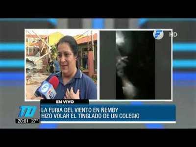 """Alumnos del Ñemby: """"Auxilio se nos cae el techo encima"""""""