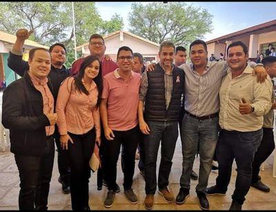 Mario Abdo Benítez se reunió con el candidato Marcelo Centurión