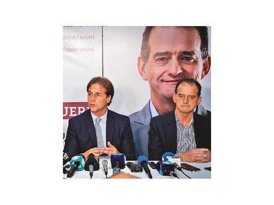 Oposición  presenta acuerdo para el balotaje en Uruguay