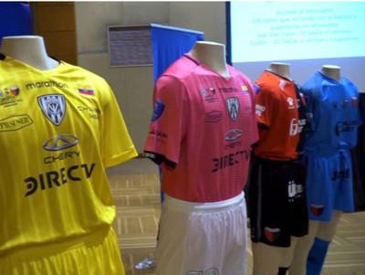 Las casacas que utilizarán los finalistas de la Copa Sudamericana