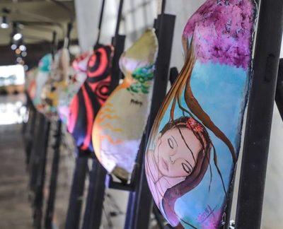 Más de 40 artistas pintan por la vida