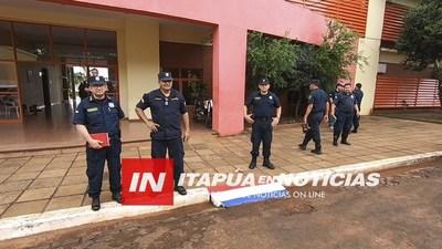 MAS DE 100 POLICÍAS DE ITAPÚA DE COBERTURA EN LA FINAL DE LA COPA SUDAMERICANA