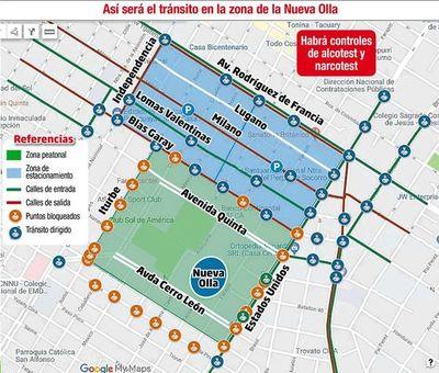 PMT se alista para el operativo previo a la Copa Sudamericana