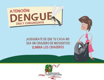Lucha contra el dengue en el barrio San Rafael