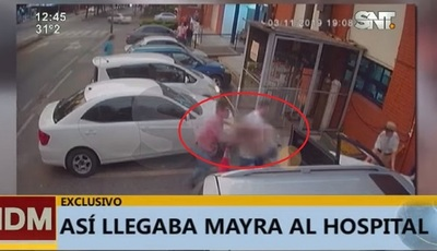 Muerte de Mayra: Revelan imágenes del sanatorio