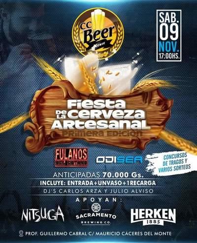 Este sábado se realizará la primera fiesta de cerveza artesanal en Concepción