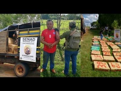 ITAPÚA: HOMBRE ES CONDENADO A 14 AÑOS DE CÁRCEL POR TRÁFICO DE DROGAS