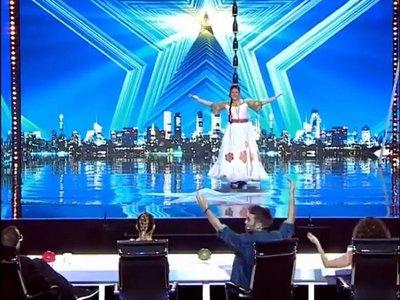 Paraguaya concursará este lunes por el pase de oro de Got Talent