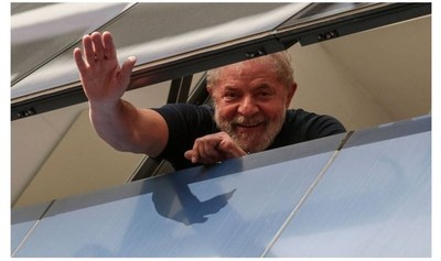 Un juez ordena la liberación del expresidente de Brasil Lula da Silva
