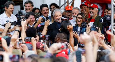Políticos se pronuncian en América Latina tras liberación de Lula