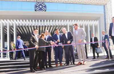 APF inaugura su nueva sede en Luque con presencia de altas autoridades