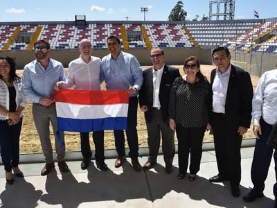 Estadio Mundialista 'Los Pynandi' quedó oficialmente inaugurado