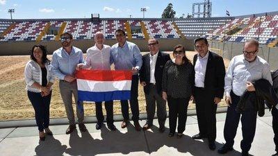 "Inauguran estadio mundialista ""Los Pynandi"""