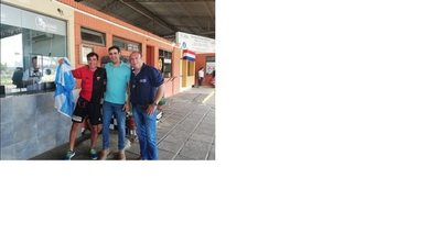 Jorge Nini llegó al país