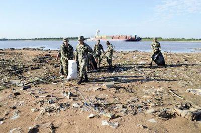 Piden a ciudadanía ayudar para mantener limpio el río
