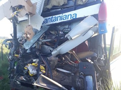 Accidente de ómnibus paraguayo en Argentina deja un fallecido