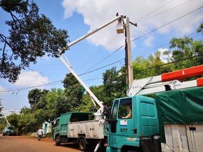 Varias zonas de Central siguen sin energía eléctrica tras temporal
