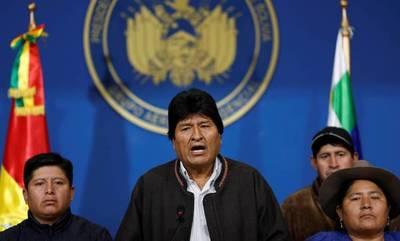 Evo Morales descarta renunciar y no confirma si volverá a ser candidato presidencial
