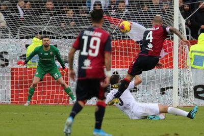 El Cagliari se sube al podio de la Serie A