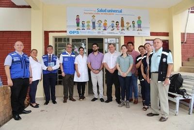 En Nanawa, cerca de 11.000 personas se beneficiarán con planta potabilizadora de agua