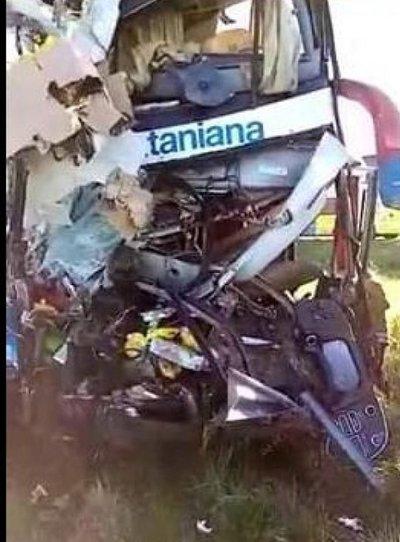 Ya suman 4 fallecidos tras fatal accidente de La Santaniana