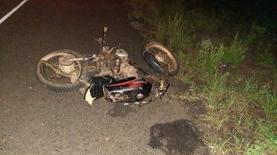 Intendente atropelló a motociclista que falleció tras el choque